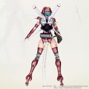 MODEROID ARIEL エリアル 飛行ユニット装備 #7 (完成)