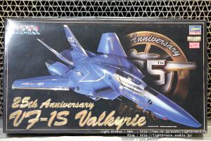 VF-1S バルキリー マクロス25周年記念塗装 #1