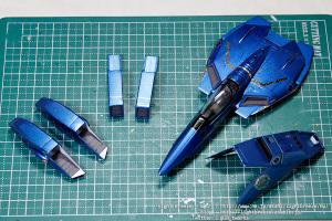 VF-1S バルキリー マクロス25周年記念塗装 #6