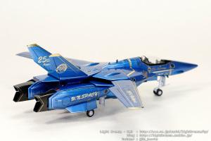 VF-1S バルキリー マクロス25周年記念塗装 #8 (完成)