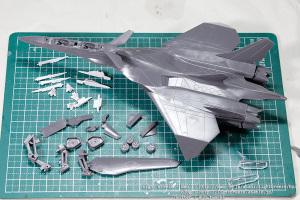 EX-MODEL FFR-31MR/D 戦闘妖精雪風 スーパーシルフ雪風 #1