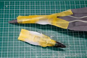 EX-MODEL FFR-31MR/D 戦闘妖精雪風 スーパーシルフ雪風 #4
