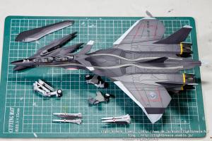 EX-MODEL FFR-31MR/D 戦闘妖精雪風 スーパーシルフ雪風 #6
