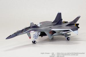 EX-MODEL FFR-31MR/D 戦闘妖精雪風 スーパーシルフ雪風 #7 (完成)